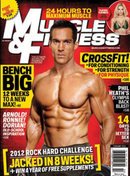 A Look Inside Muscle & Fitness' February Issue