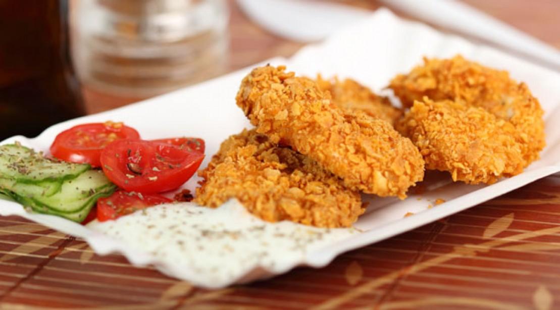 Lean Crispy Chicken Breast Recipe