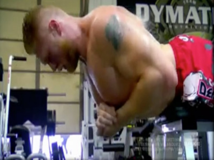 Clip of the Day: Brock Lesnar - Extreme Training