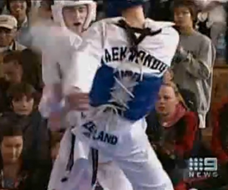New Zealand Taekwondo Athlete in Pimping Shape for Olympic Games