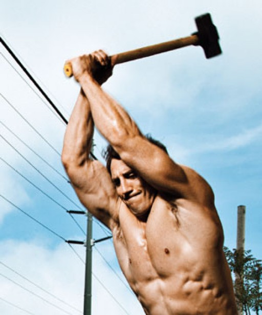 Tim Kennedy's Arm Workout