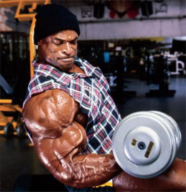 Get Biceps Like Ronnie Coleman