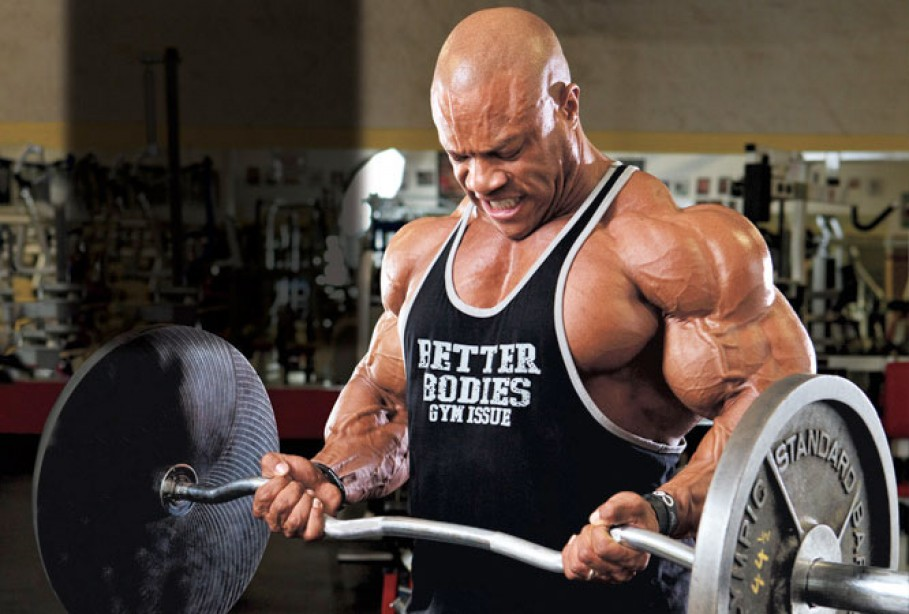Mr. Olympia Phil Heath's Triceps Routine