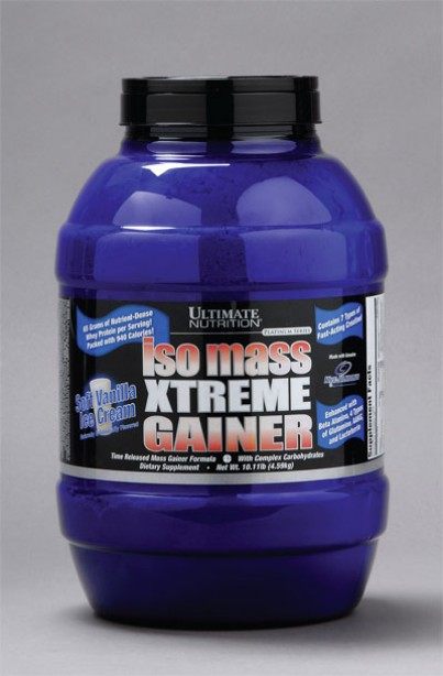 Supplement of the Week: Iso Mass Xtreme Gainer