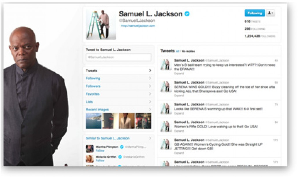 Bad M*therf*ckin' Fan! Samuel Jackson Tweets the Summer Olympics