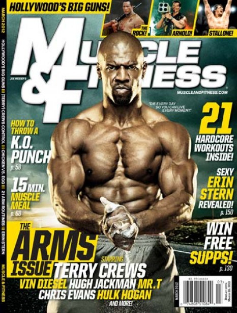 A Sneak Peek Inside the Cover Story of Muscle & Fitness' March Issue