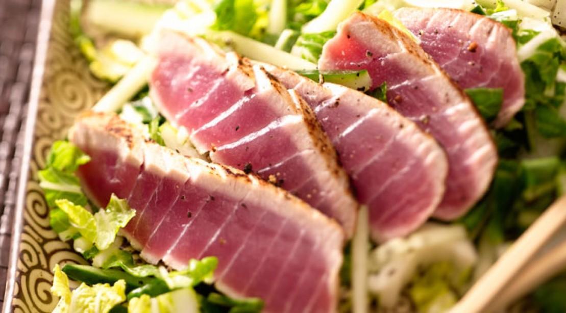 Marinated, Seared Ahi Tuna Recipe