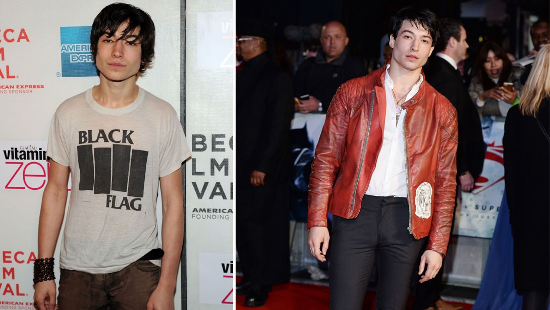 Hers Guy Ezra Miller Is Bulking Up For The Flash Muscle Fitness