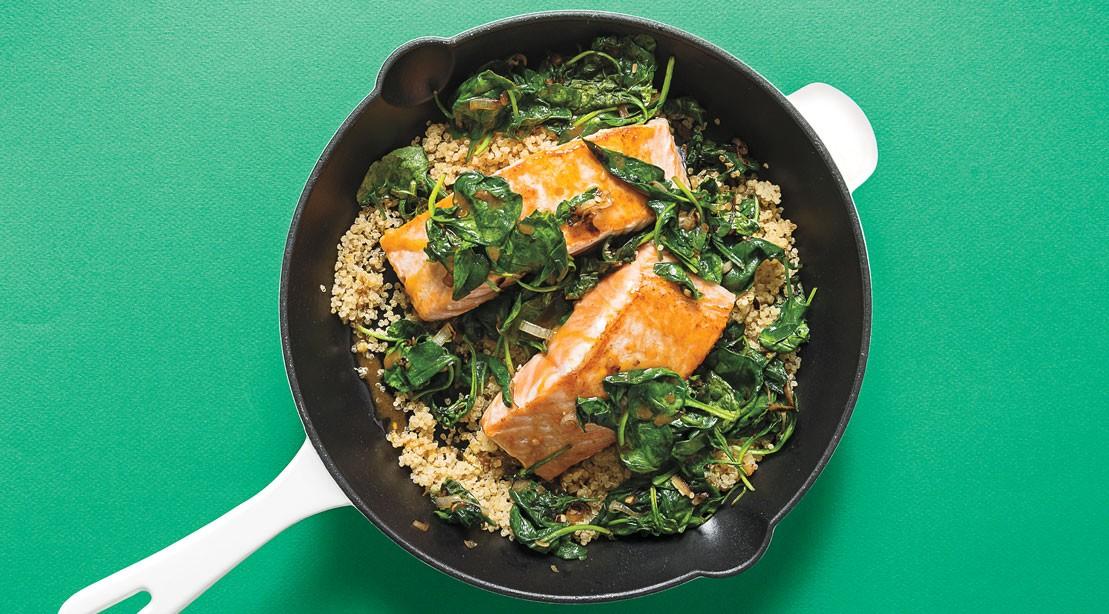Salmon Quinoa