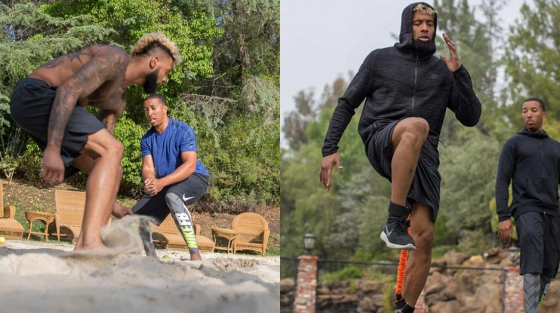 Watch: How NFL trainer Jamal Liggin is getting 13 players ripped and ready for training camp