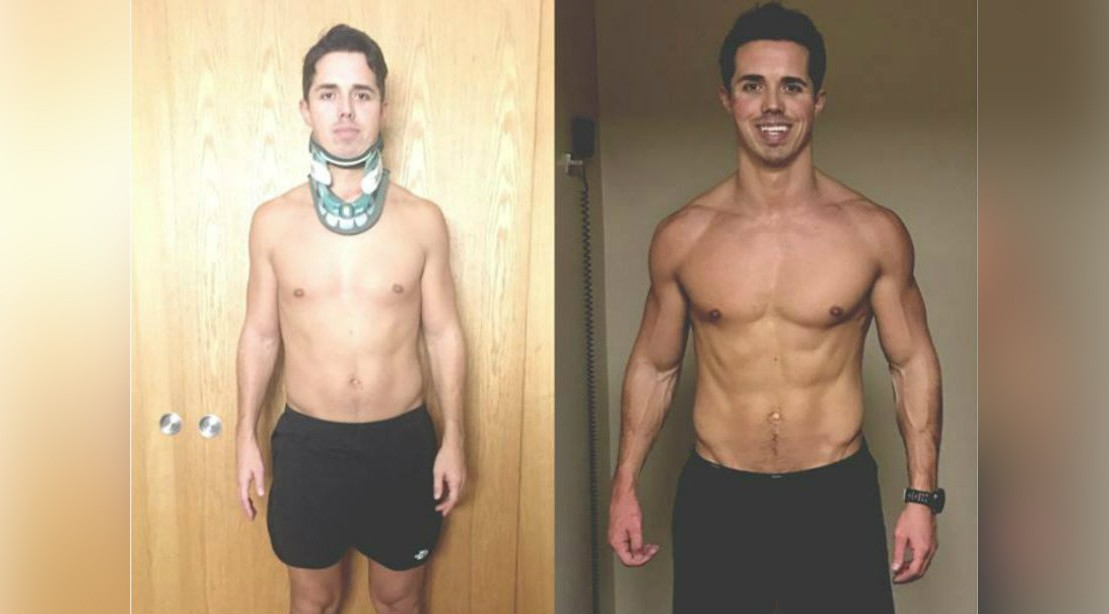 Matt Lockwood Before And After Body Transformation