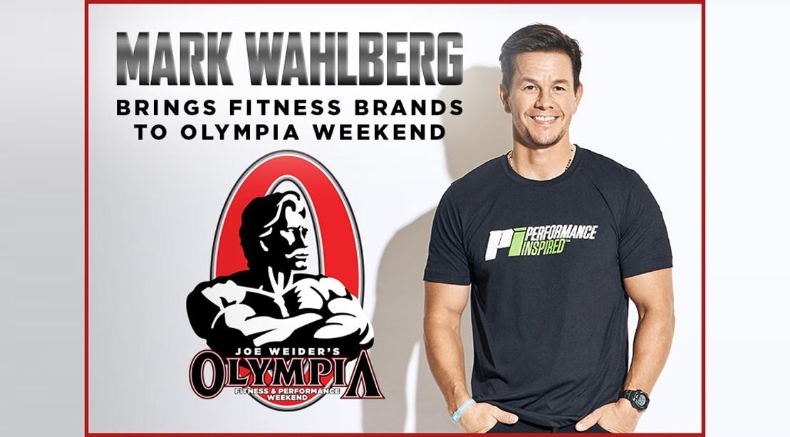 Mark Wahlberg Brings Fitness Brands to Olympia Weekend