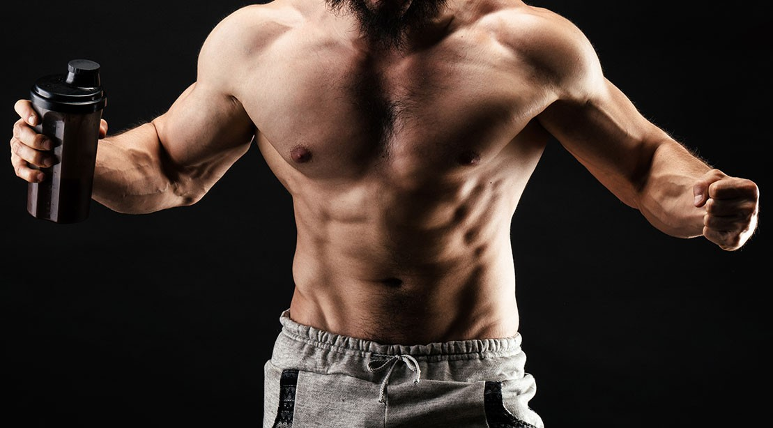 1109 Protein Shake Muscle GettyImages 1072536808