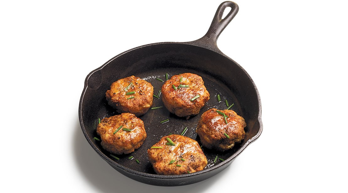 Almond-Crusted Fish Cakes