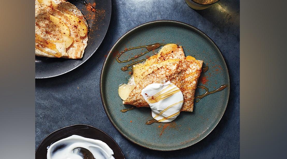 Apple Cinnamon Protein Crepe