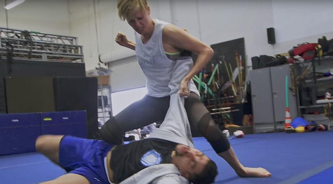 Watch: Charlize Theron Kicks Stuntman Ass in 'Atomic Blonde'