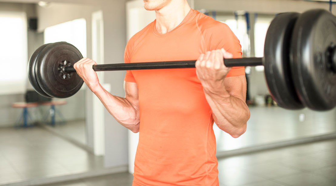 1109 barbell biceps curl 0
