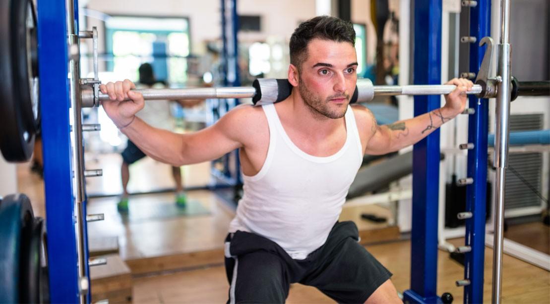 1109 barbell squat 1