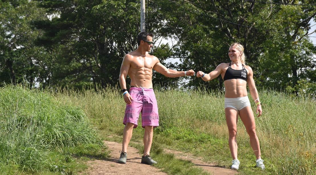 Ben Bergeron and Katrin Davidsdottir