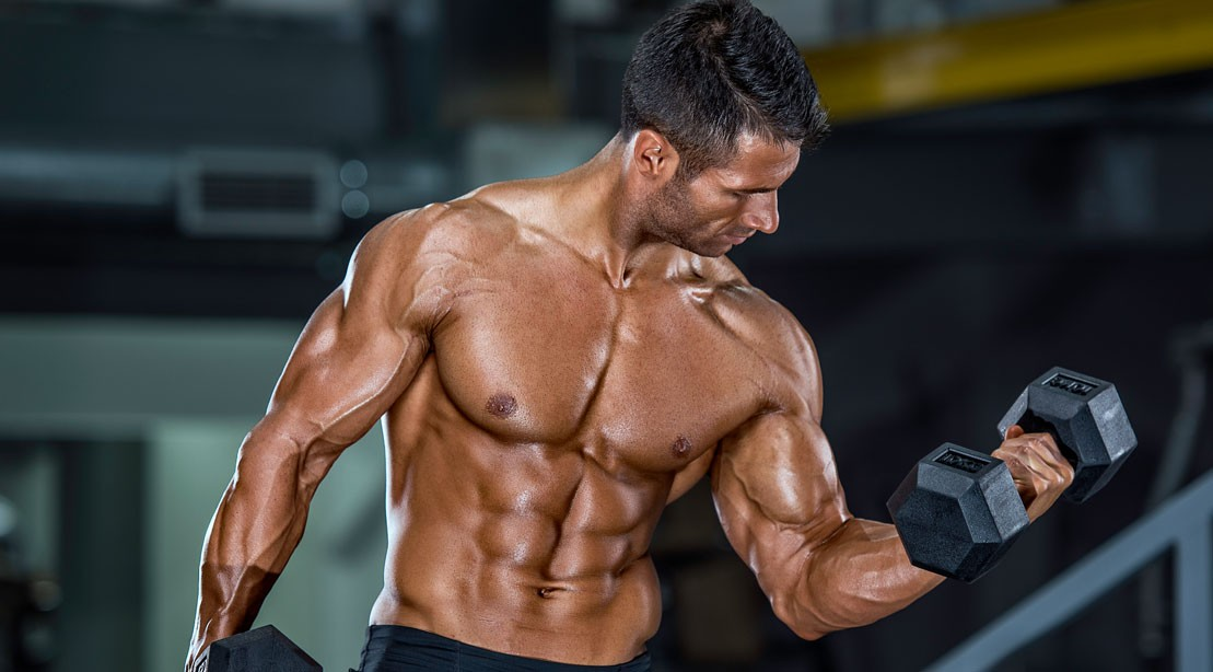 The 30-Minute Dumbbell Workout to Build Your Biceps   Muscle