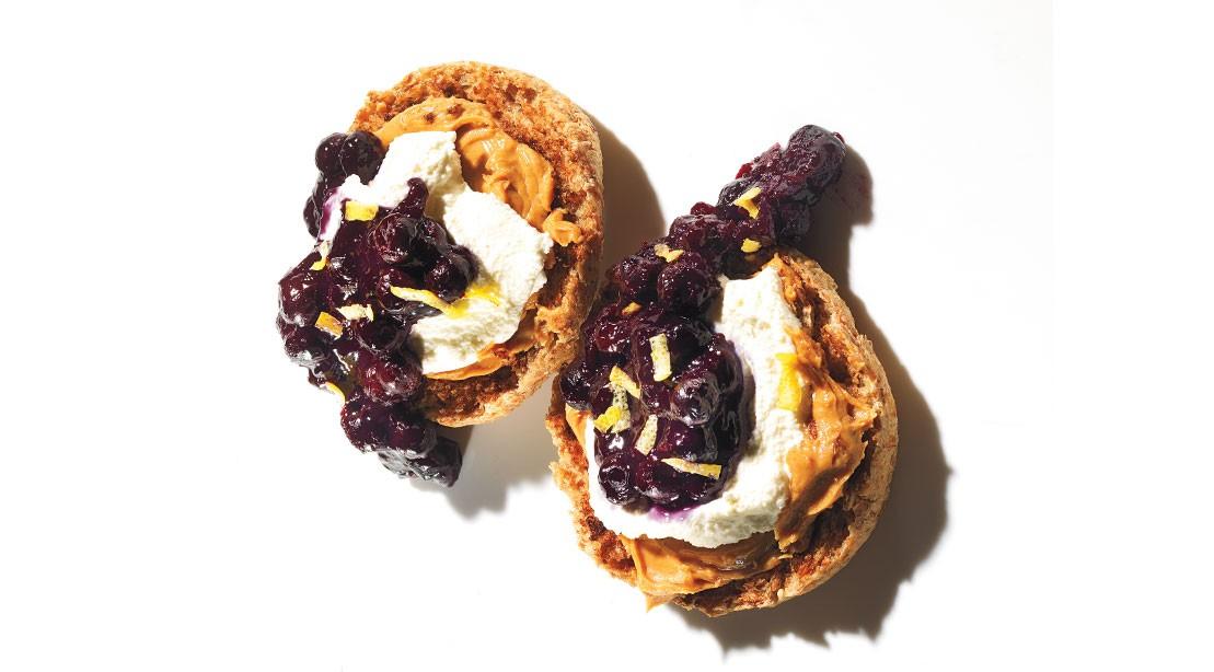 Blueberry Cheesecake Muffins