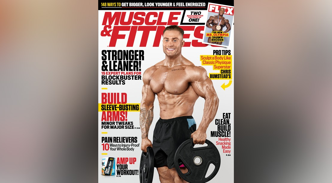 Get the December 2018 Issue of 'Muscle & Fitness'