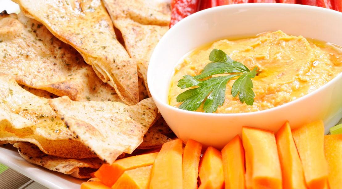 Butternut Squash Greek Yogurt Dip