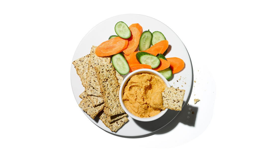 Snack For Gains: Butternut Hummus