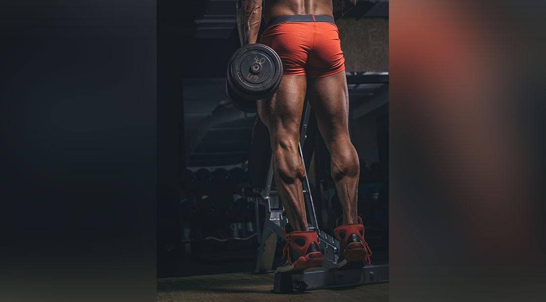 Calves Muscular Body Builder