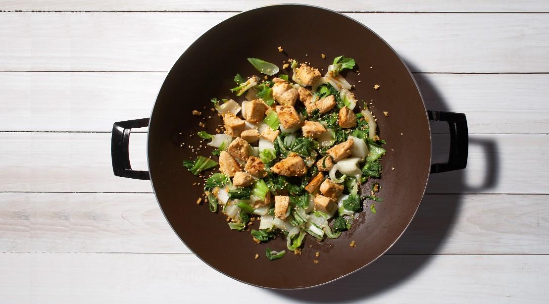 Chicken Bok Choy Saute