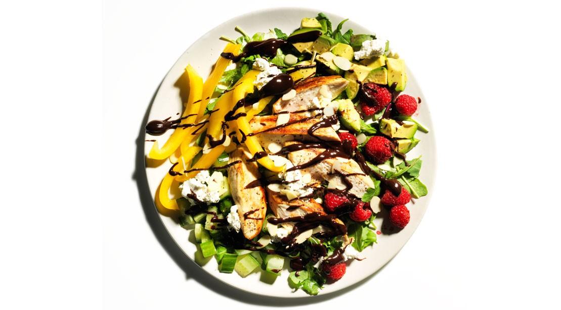 Chicken Gazpacho Salad