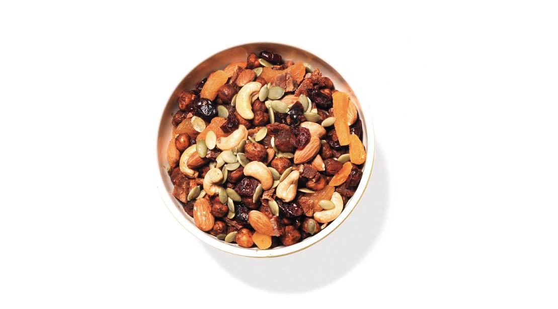 Chickpea Snack Mix