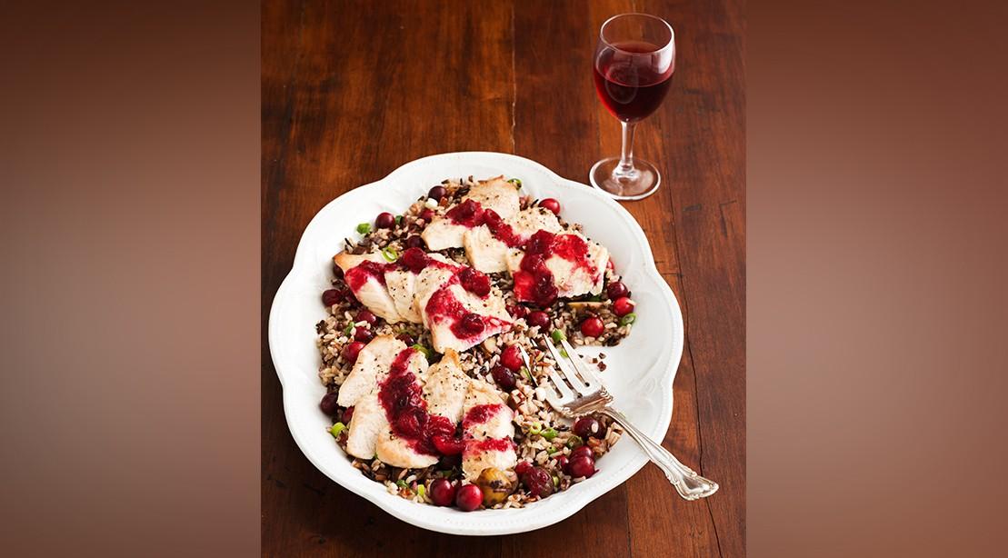 Cranberry Turkey and Wild Rice