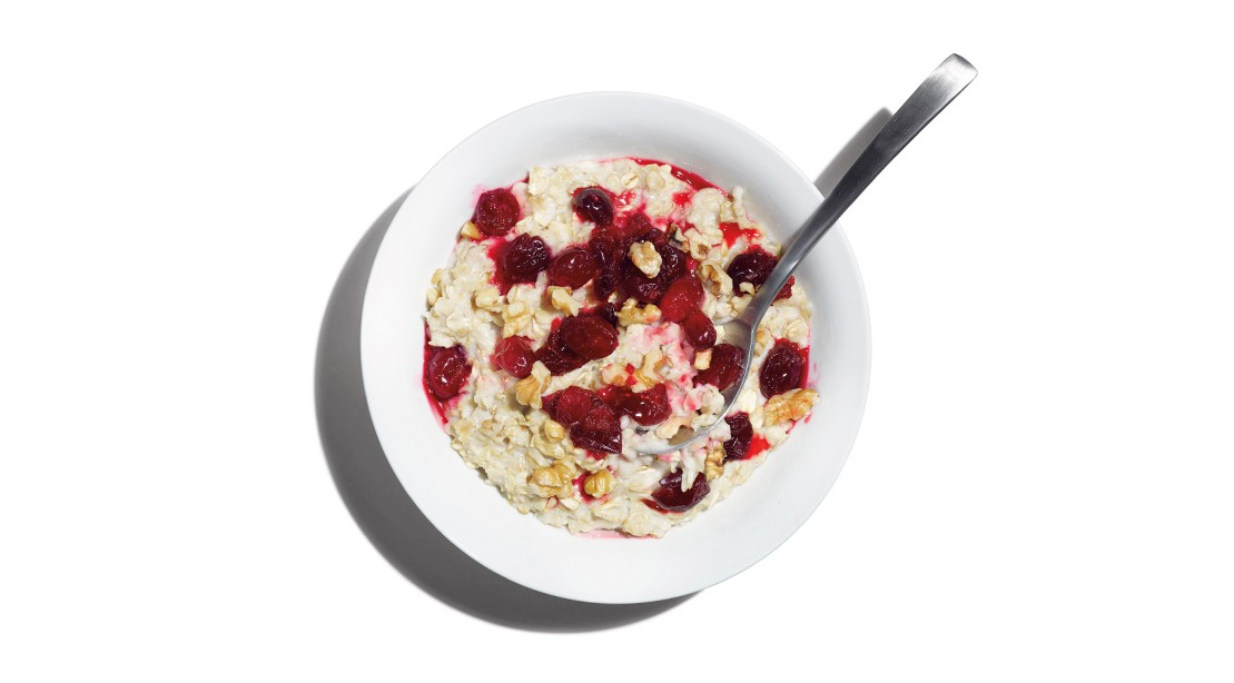 Cranberry Walnut Oatmeal