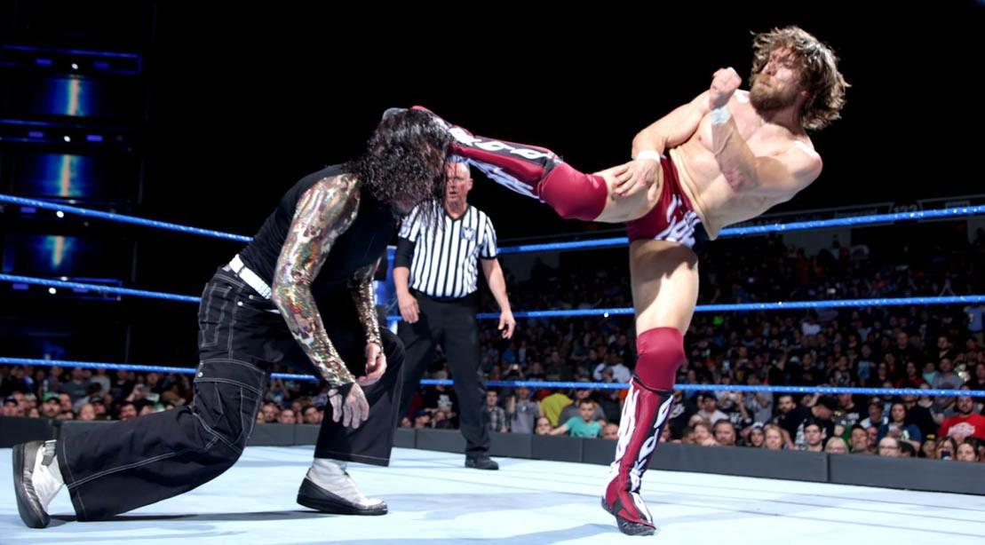 Jeff Hardy vs. Daniel Bryan on WWE SmackDown 22 May 2018