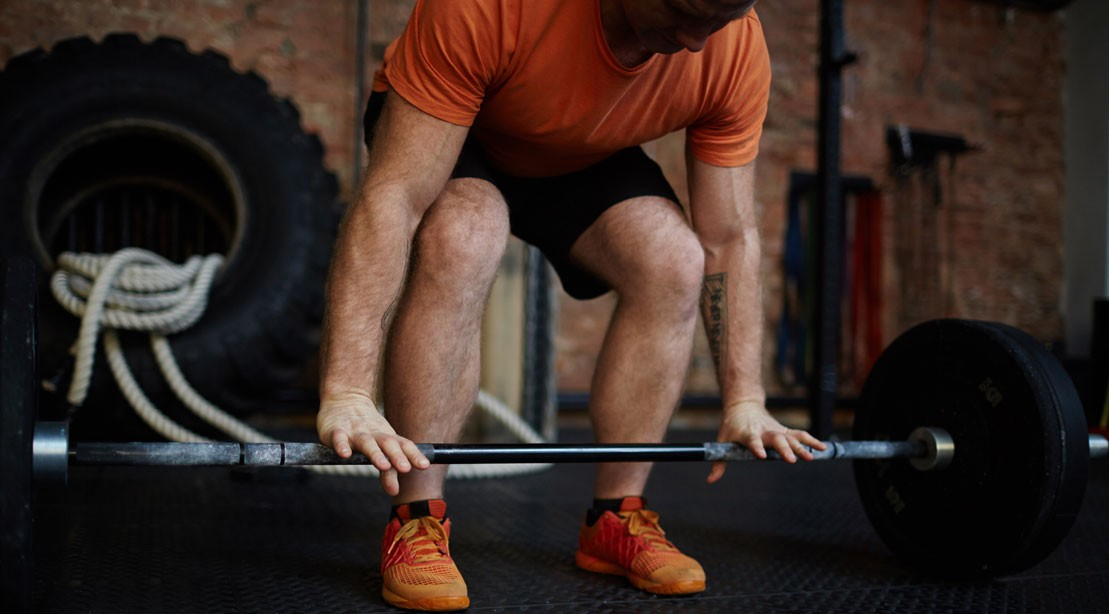 Deadlift With Weightlifting Shoes