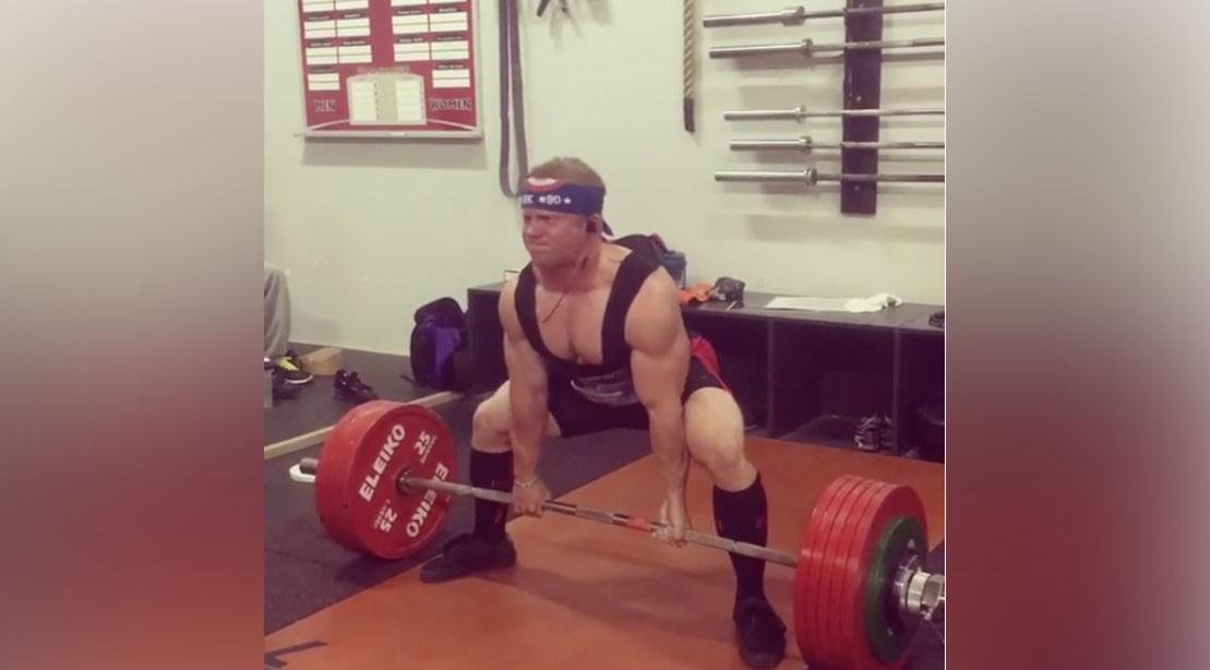 Jon Gruden's Son Deuce is a Champion Powerlifter