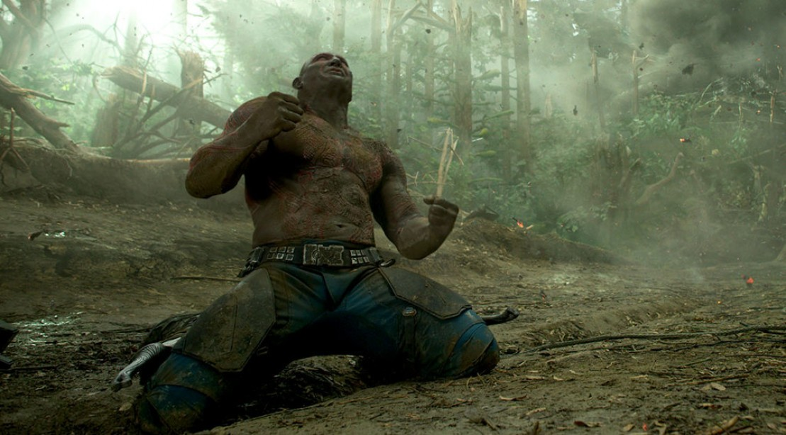 Dave Bautista As Drax from Guardians of the Galaxy