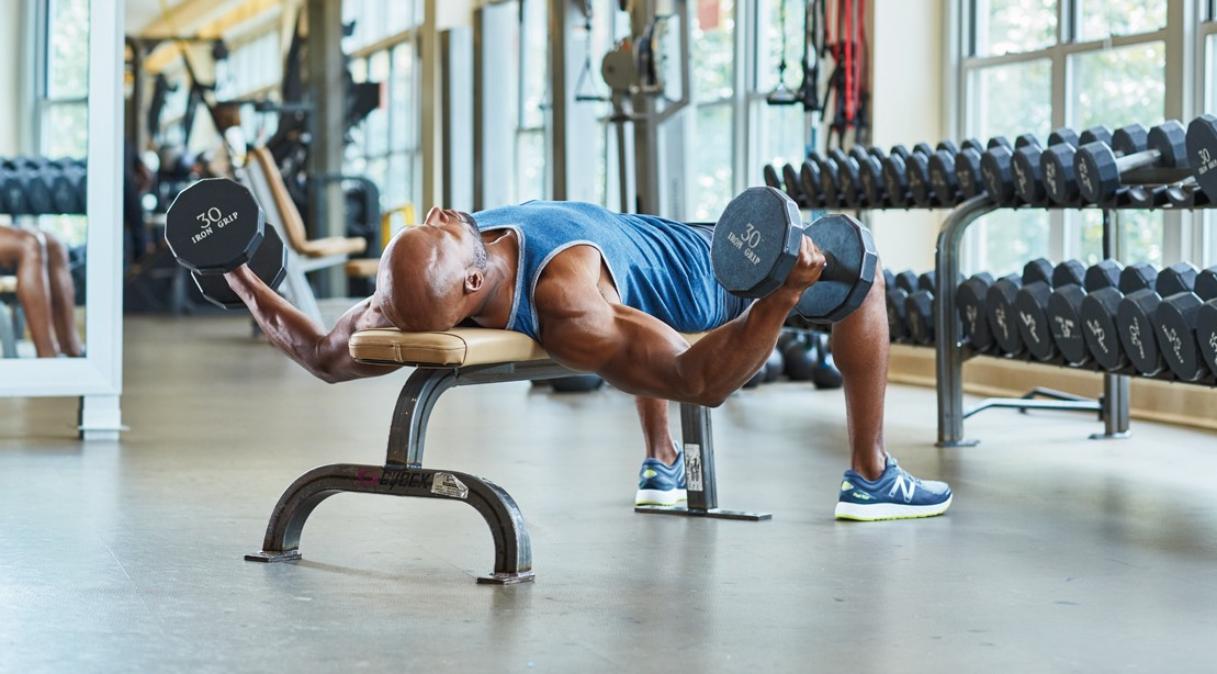 All Dumbbell Chest Workout Pound Your Pectorals