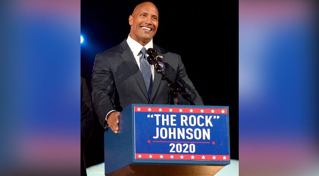 """Dwayne """"The Rock"""" Johnson for President 2020"""