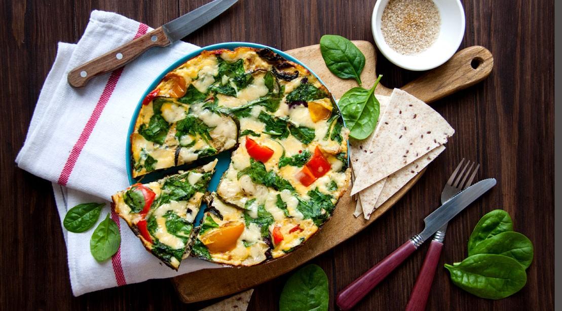 Vegetable Egg Frittata