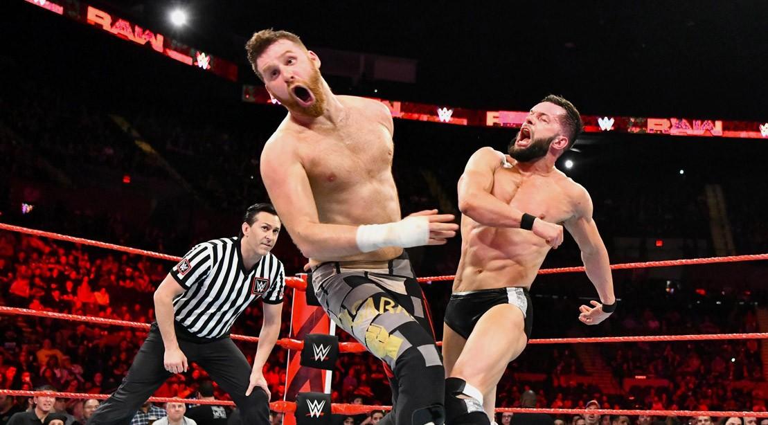 Finn Balor at WWE Raw on May 7, 2018