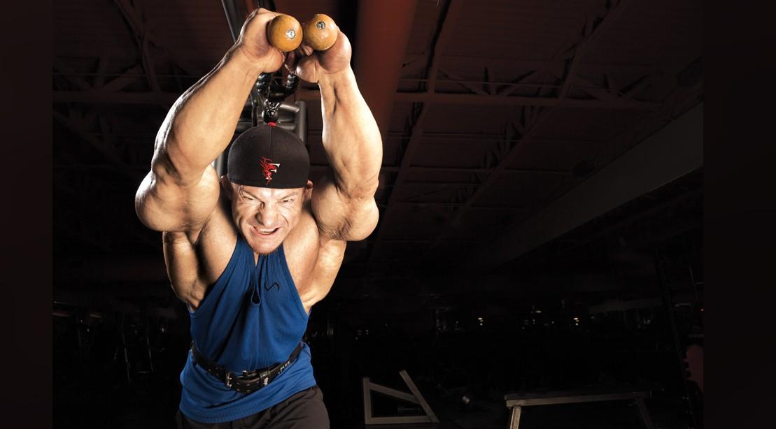 Flex Lewis Triceps Extensions