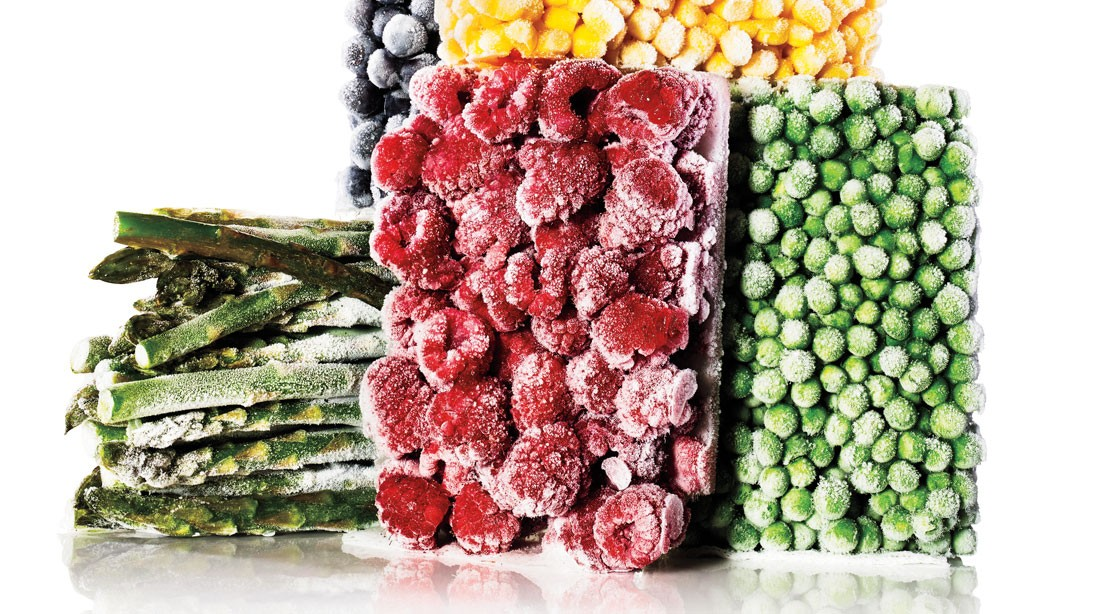 Frozen fruits and vegetables
