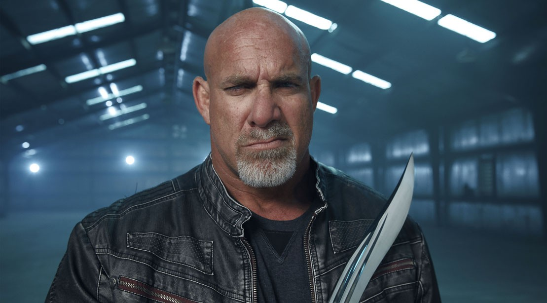 Bill Goldberg stars as the host of 'Forged in Fire: Knife or Death' on History