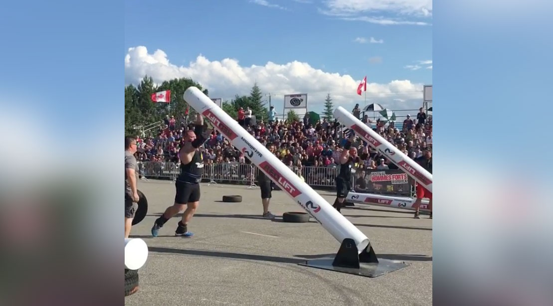 Hafthor Bjornsson wins 1st place at Arnold Pro Strongman competition