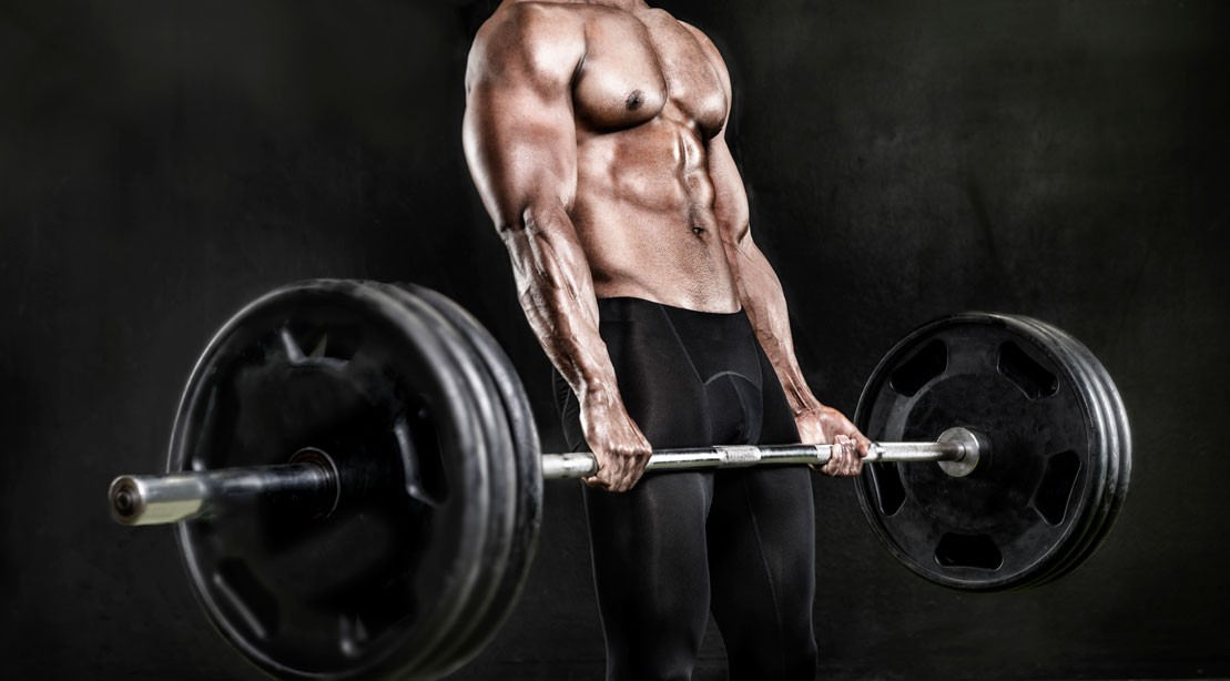 Heavy Barbell Deadlift