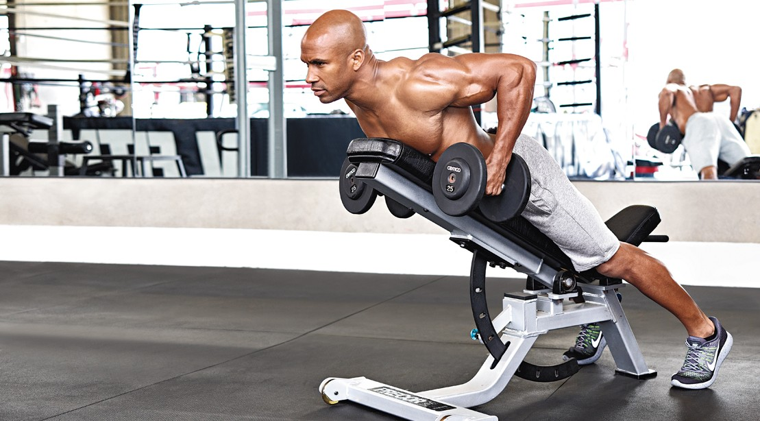 1109 incline dumbbell row