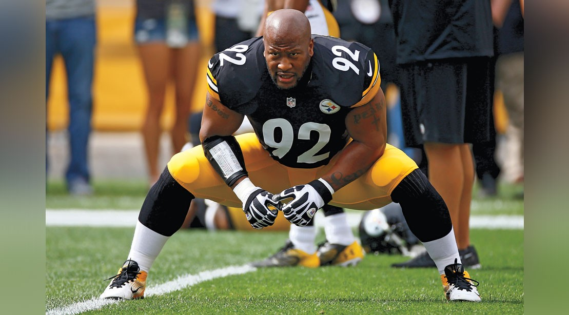 James Harrison's NFL Power Workout | Muscle & Fitness