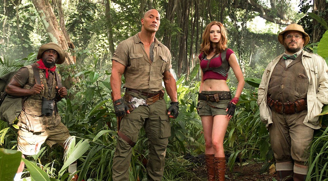Watch: Dwayne Johnson Changes the Game in Epic First 'Jumanji' Trailer